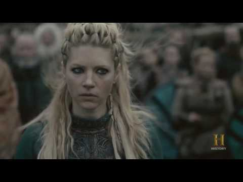 Vikings - Lagertha Kills Aslaug [Season 4B Official Scene] (4x14) [HD]