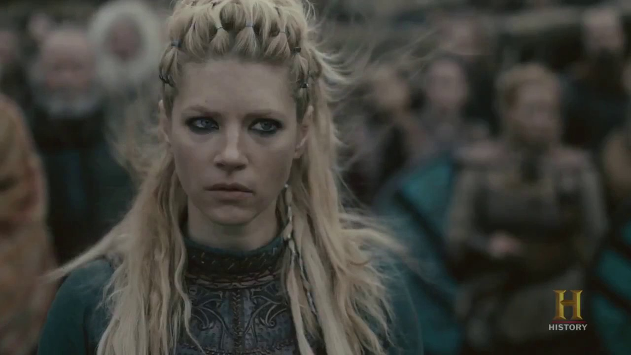 Vikings Lagertha Kills Aslaug Season 4b Official Scene 4x14 Hd Youtube