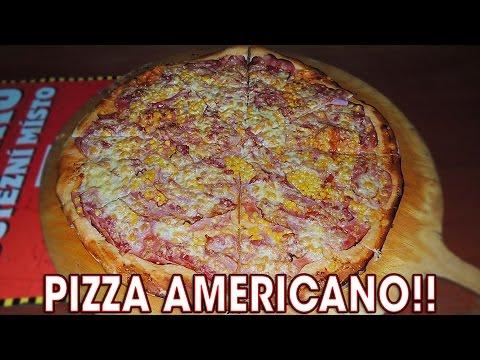 """20"""" Pizza Americano Challenge in Czech Republic!!"""