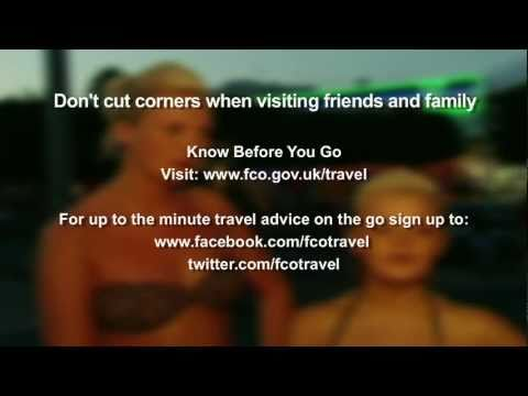 Visiting friends and family overseas - Know Before You Go