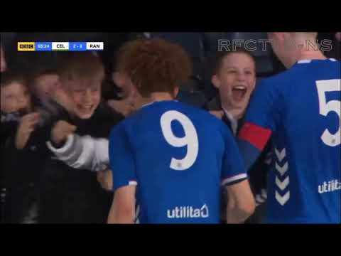 Celtic v Rangers Youth Cup Final 2019 (2-3)