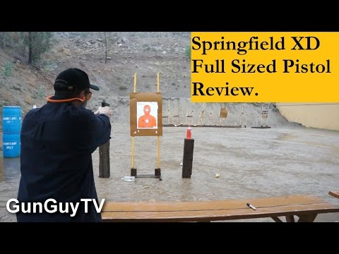 Is the Springfield Armory XD 40 a good gun?