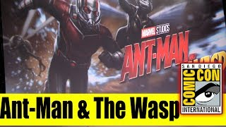 ANT-MAN & THE WASP Huge Casting News | Comic Con 2017 Panel