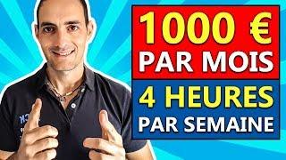 1000 EUROS pour UNE SEMAINE DE 4 HEURES avec la VENTE SUR AMAZON !