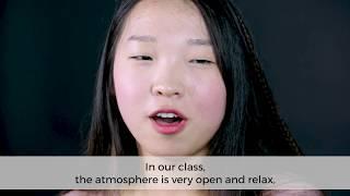 Why come to L'École de design (language: Korean, English subtitles)