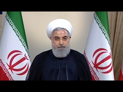 Iranian president slams Trump's decision to exit nuclear deal