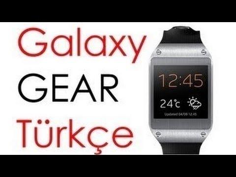 Samsung Galaxy Gear TÜRKÇE İnceleme