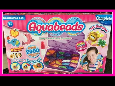 UNBOXING Aquabeads Beadtastic Set | Fun & Easy 3D Designs | Shooting Star Case | Review