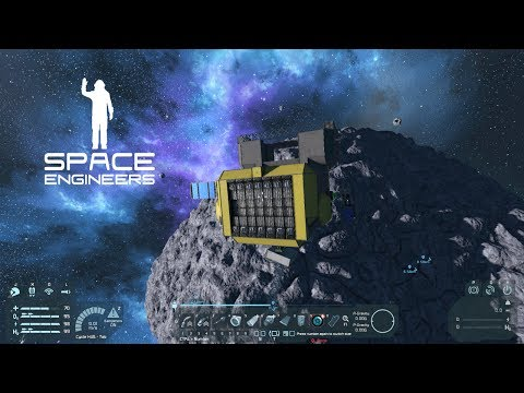 Space Engineers  -- 11 -- Space Station Design