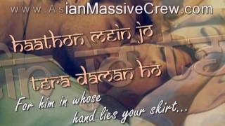 ★ ♥ ★ Tu Mile Dil Khile [F] lyrics + Translation [1995]★ www.Asian-Massive-Crew.com★♥★