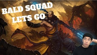 BALD SQUAD LETS GO - Diablo 3 (PC) Live Stream and MORE!