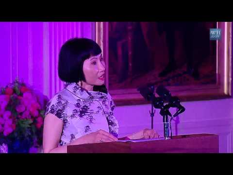 Amy Tan Performs At The White House