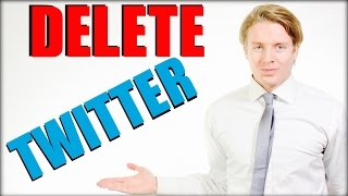 How To Delete Twitter Account 2016 - Deactivate Twitter Account