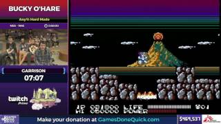 Bucky O'Hare by Garrison in 28:26 - SGDQ2017 - Part 63
