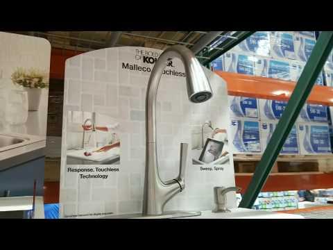 costco!-kohler-malleco-touchless-kitchen-faucet!-$199!!!