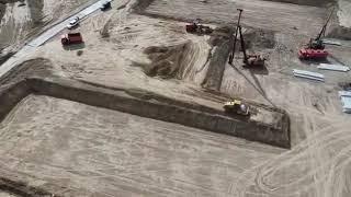 Строительство школы в микрорайоне Южный в Бердске