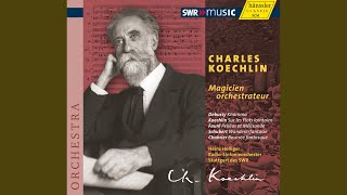 Pelleas et Melisande, Op. 80 (arr. C. Koechlin) : I. Prelude - Andante molto moderato