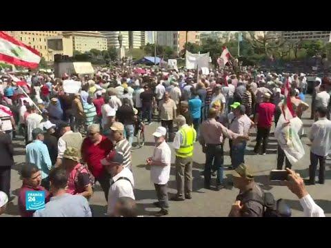 عسكريون متقاعدون يحاولون اقتحام مقر رئاسة الحكومة اللبنانية..والسبب؟  - 12:55-2019 / 5 / 21
