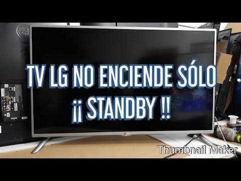 TV LCD LG NO ENCIENDE SÓLO STANDBY DIAGNÓSTICO PASÓ POR PASO MODE L425800