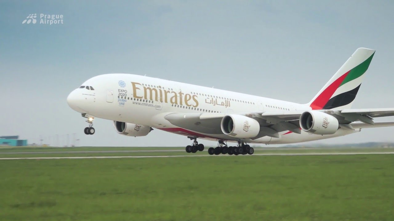 Magazín Terminál - A380 společnosti Emirates a další novinky z Letiště Václava Havla Praha