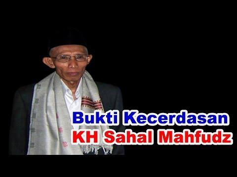 Bukti Kecerdasan KH Sahal Mahfudz | KH Zubair Sarang Mengakuinya