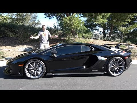 Вот почему Lamborghini Aventador SVJ стоит $600 000