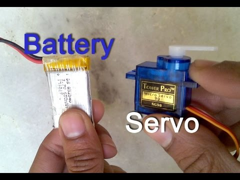 motor servo drive direct with battery