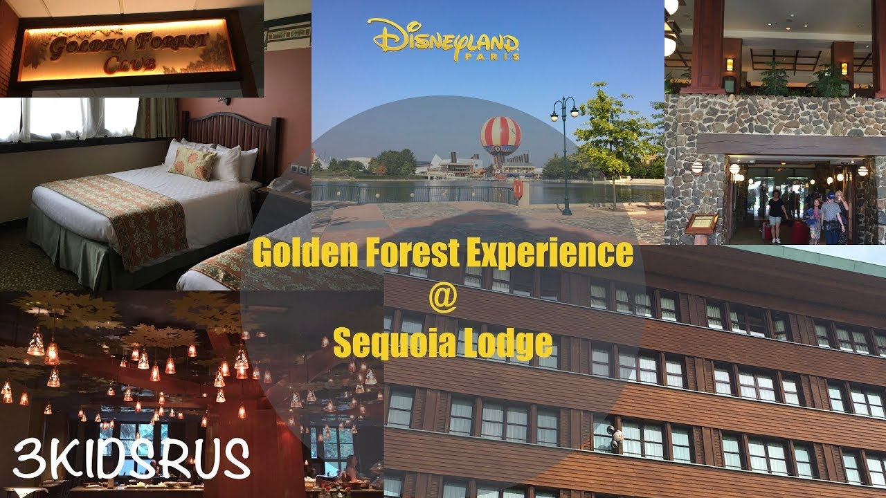 Golden forest room sequoia lodge disneyland paris for Hotel sequoia lodge piscine