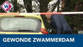 Gewonde vrouw bij tankstation in Zwammerdam - OMROEP WEST