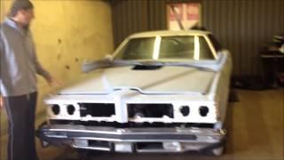 Pontiac Can am burnout