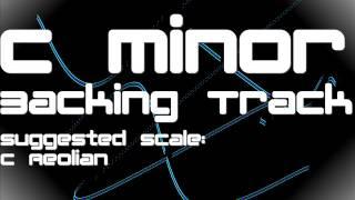 C Minor Backing Track: Metal, Modern, Killswitch Engage Style