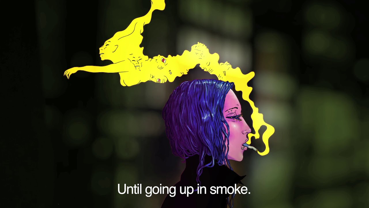 Life Narrated: Girl Smoking