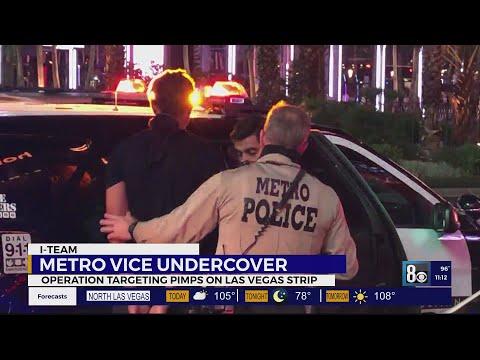 I-Team: Metro undercover operation targets pimps on Las Vegas Strip