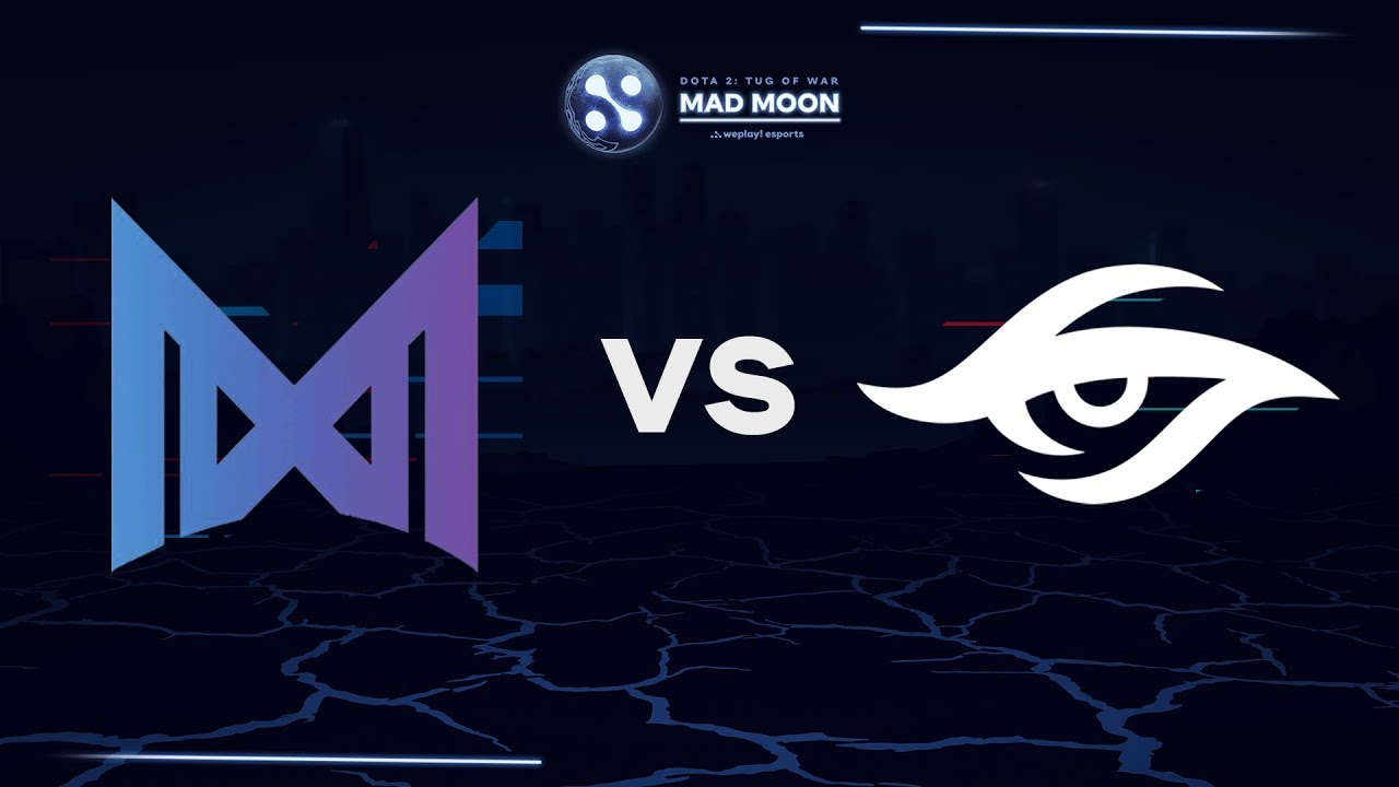 Nigma vs Secret - Map3   Ru-VODs   WePlay! Mad Moon - YouTube