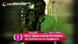 Perlitas de la boda de Nico y Gime: Lali con su ex y La China Suárez sola
