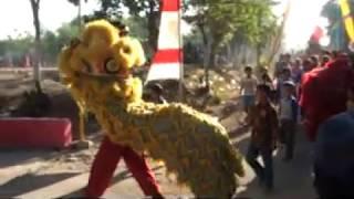 Barongsai - peringatan Hari Pembangunan GKJW & HUT RI // GKJW Dawarblandong