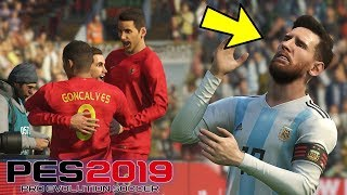 TIMNAS BIKIN MESSI NANGIS!!! INDONESIA VS ARGENTINA - TIMNAS WORLD TOUR #3 (PES 2019 INDONESIA)