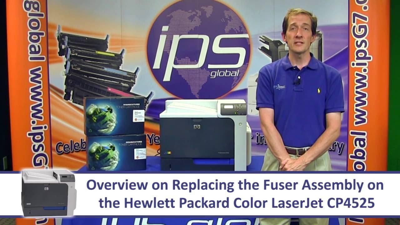 HP COLOR LASERJET CP4525 CP3525 CP4025 FUSER RESET RESISTOR KIT DIRECTIONS USA