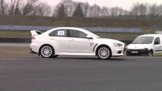Pojedynek Tytanów – Subaru Impreza vs Mitsubishi Lancer – Tor Białystok video