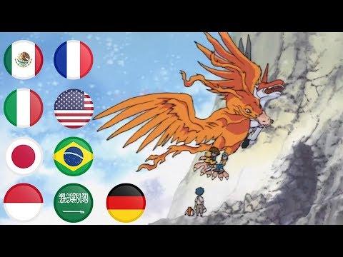 Digimon Unimon vs ikkakumon multilanguage (Japanese