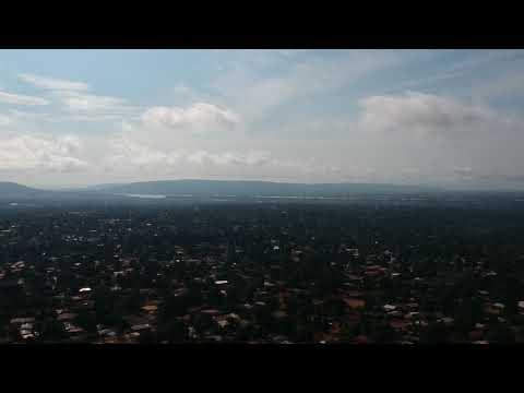 Bangui filmé avec un drone