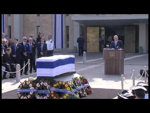 Israel Buries Former Leader Ariel Sharon
