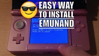 3DS - INSTALL EMUNAND AND UPDATE TO 11.2.0
