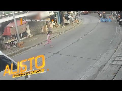 Alisto: Batang babae, nabundol ng humaharurot na sasakyan!