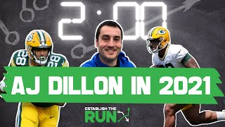 WHY YOU NEED TO DRAFT A.J. DILLON IN FANTASY FOOTBALL #shorts