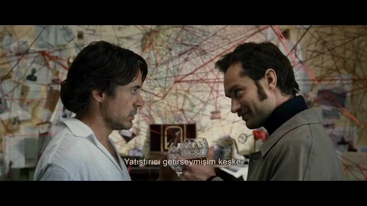 Sherlock Holmes Gölge Oyunları Türkçe altyazılı Fragman