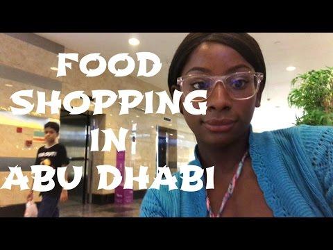 Food Shopping in Abu Dhabi | Abu Dhabi Vlog #9