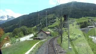 Führerstandsmitfahrt Tauernbahn Schwarzach St.Veit- Mallnitz Obervellach [HD] - Cab Ride - ÖBB 1116