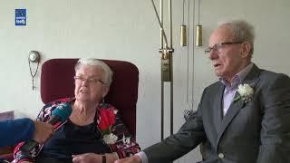 Pieter en Riek van Harten-de Boer 65 jaar getrouwd
