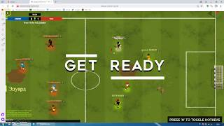 soccer instant online. the game against the losers